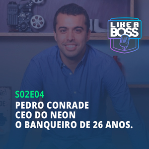 Pedro Conrade, CEO do Neon. O banqueiro de 26 anos.