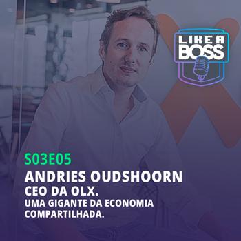 Andries Oudshoorn, CEO da OLX. Uma gigante da economia compartilhada.