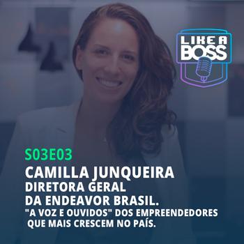"""Camilla Junqueira, diretora da Endeavor. """"A voz e ouvidos"""" dos empreendedores que mais crescem no país."""