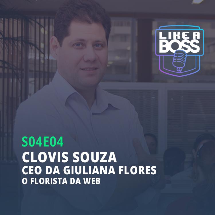 Clovis Souza, CEO da Giuliana Flores. O florista da web.