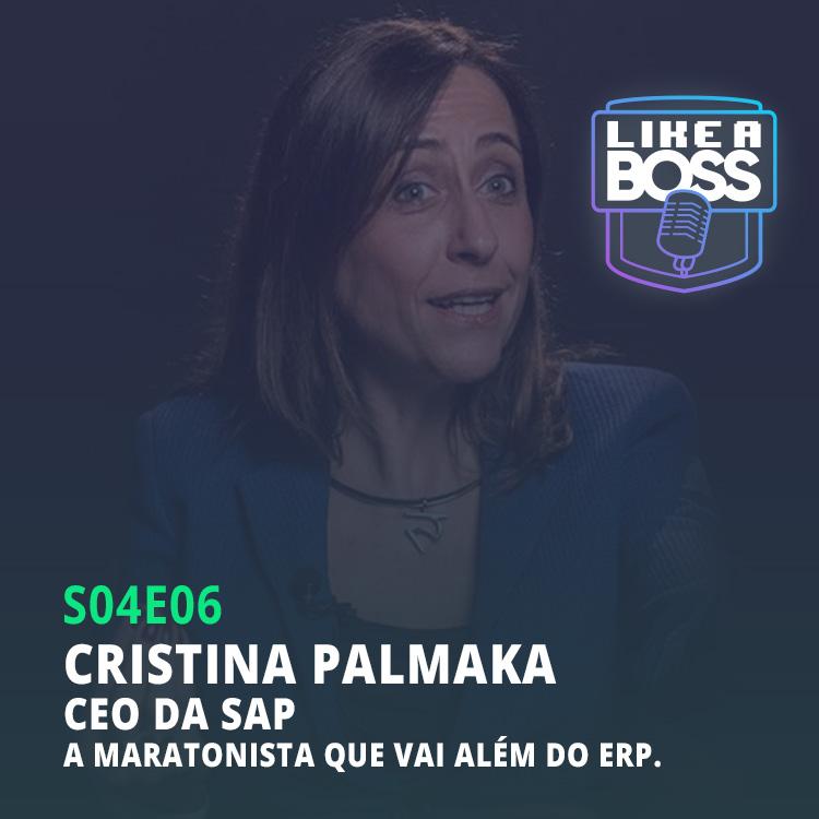 Cristina Palmaka, CEO da SAP Brasil. A maratonista que vai além do ERP