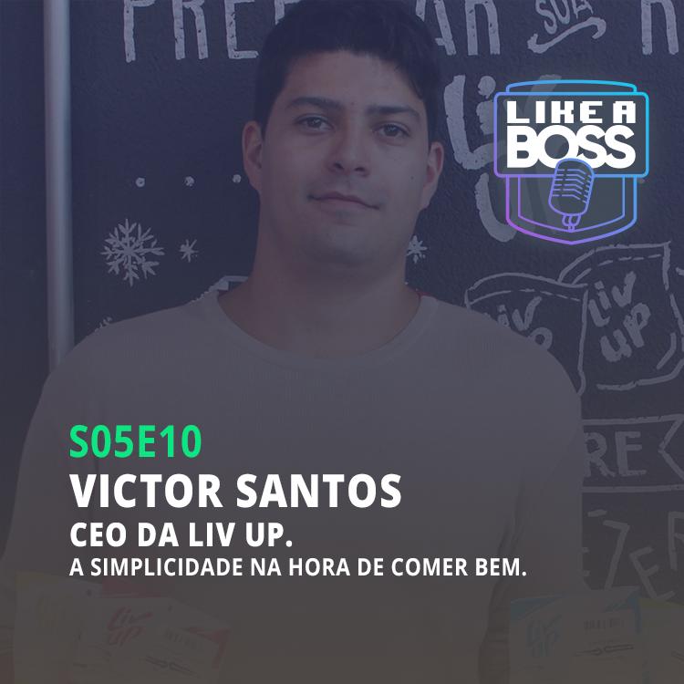 Victor Santos, CEO Liv UP. A simplicidade na hora de comer bem.